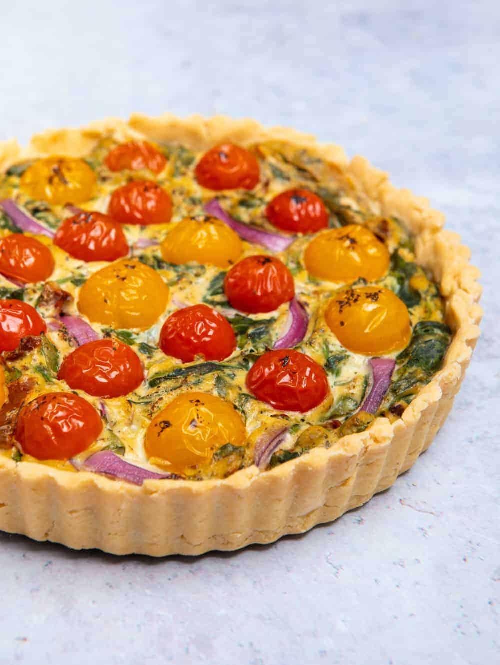 Gluten Free & Vegan Quiche pastry