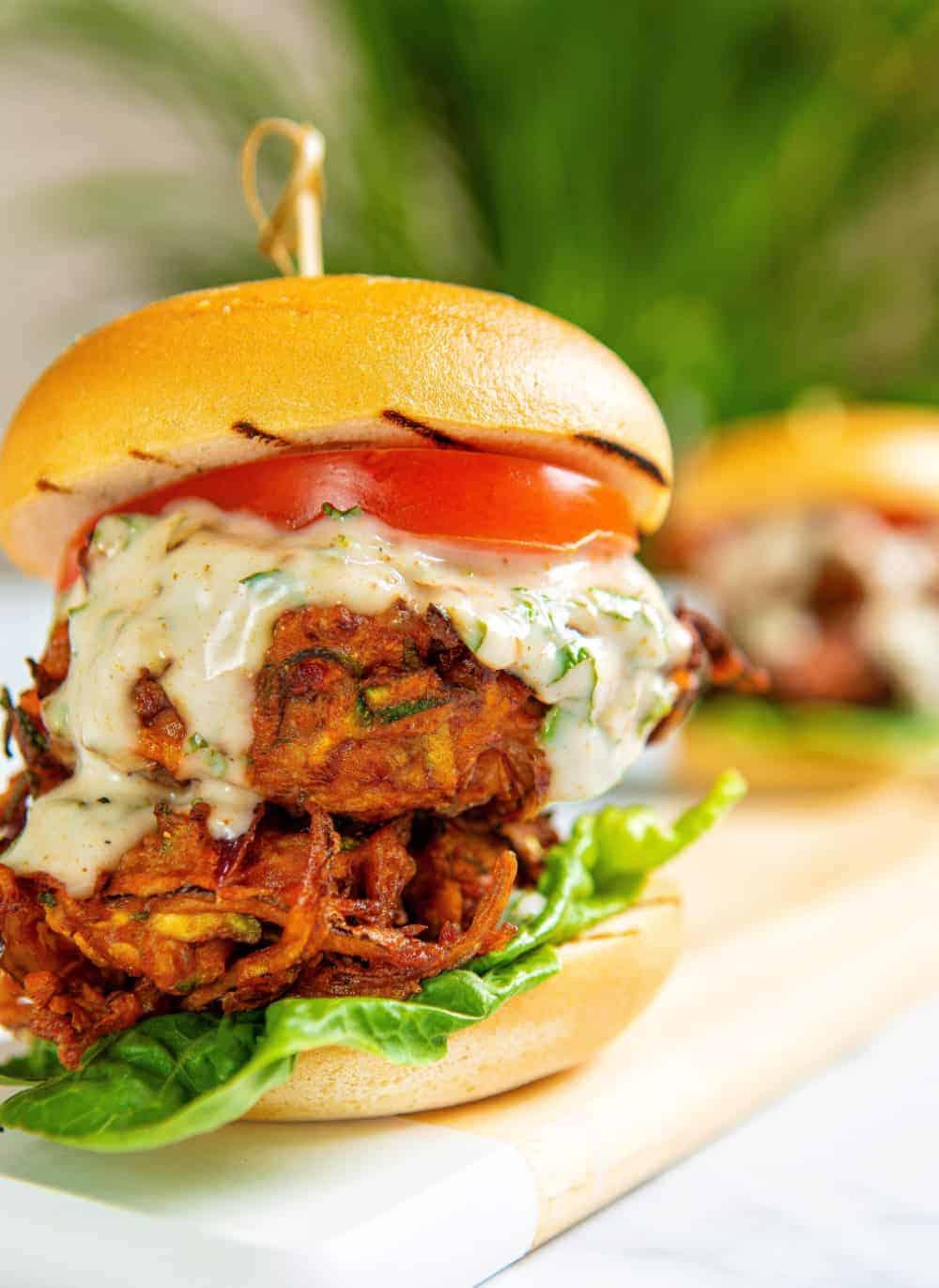 Bhaji Burger Double