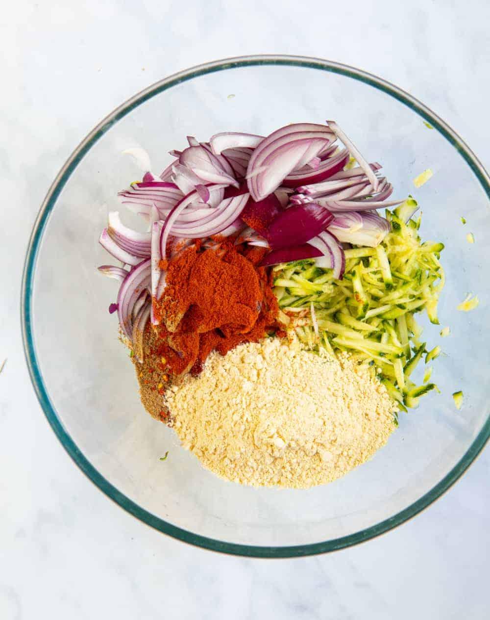 Bhaji Burger Ingredients
