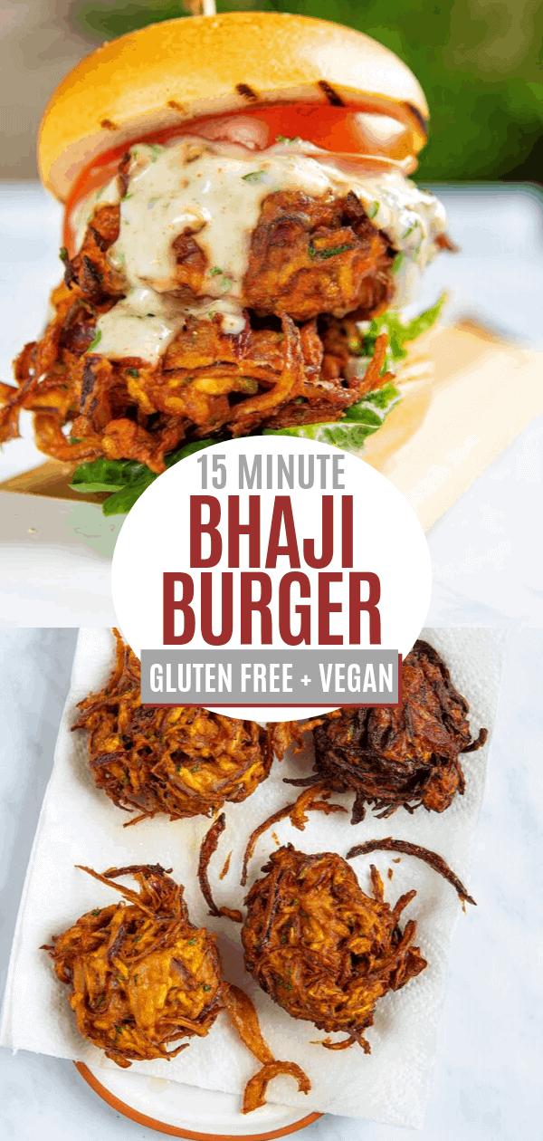 Bhaji Burger Pin
