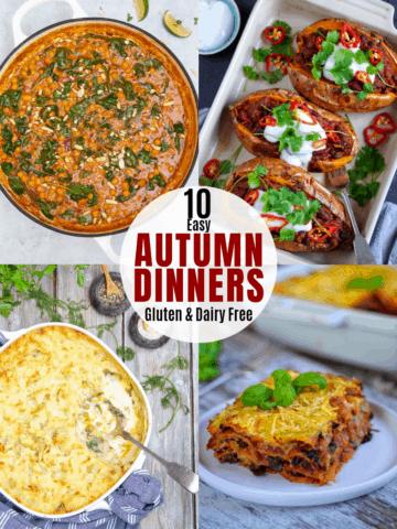 10 Easy Autumn Dinners