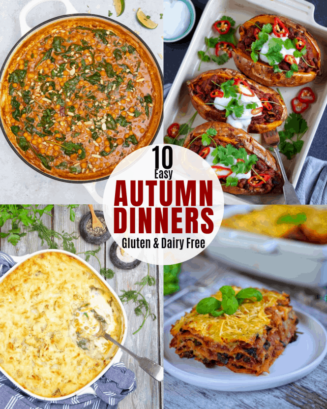 10 Easy Autumn Dinners