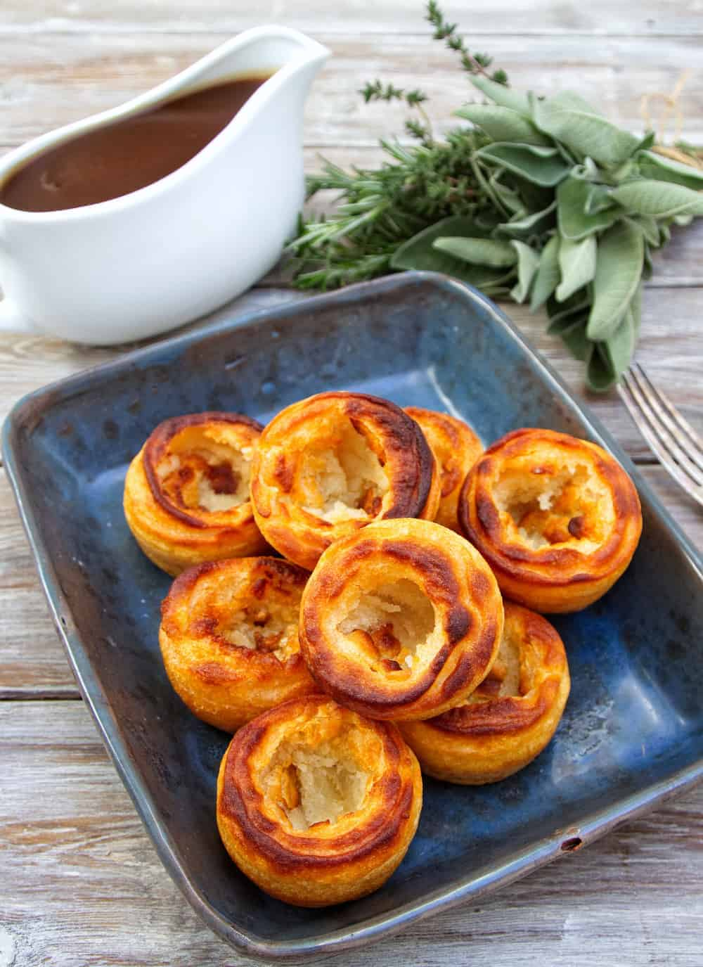 Gluten Free & Vegan Yorkshire Puddings
