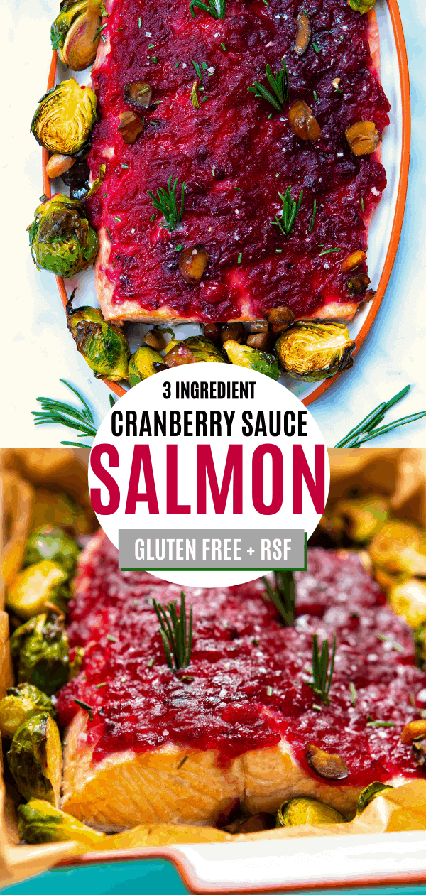 Cranberry Sauce Baked Salmon Pin