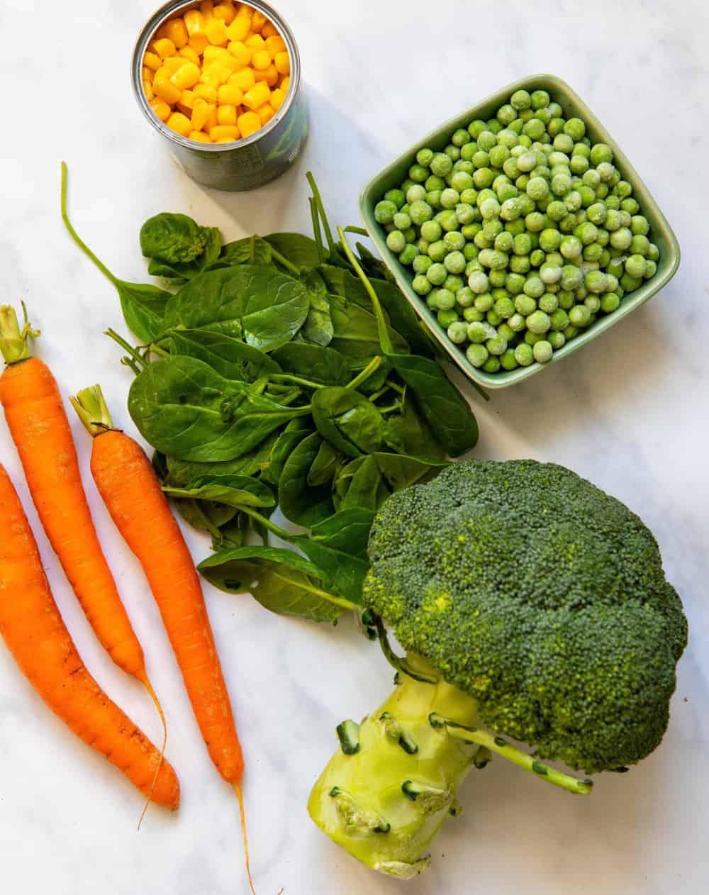 Veg Ingredients
