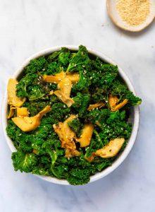 Kale with Artichoke & Mustard- Top