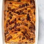 Banana Bread & Butter Pudding - Top