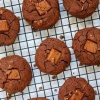 Chunky Chocolate Chip Cookies - Closeup
