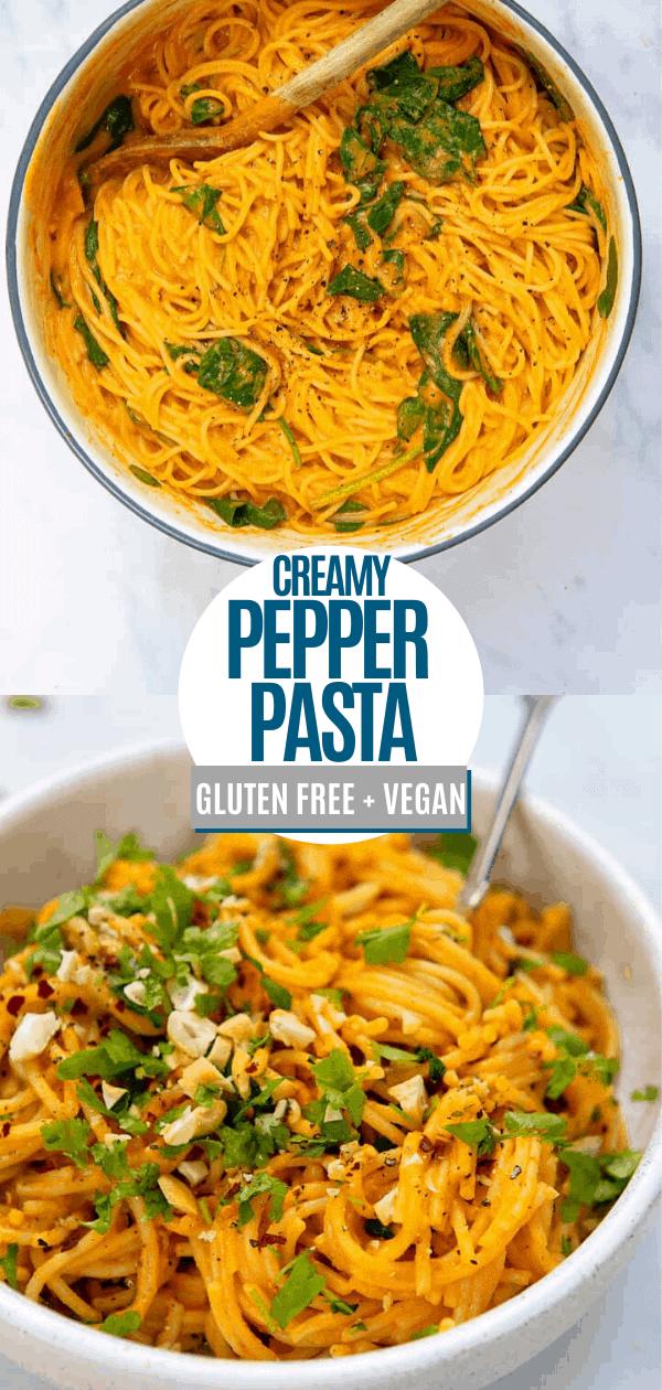 Creamy Pepper Pasta Pin 2