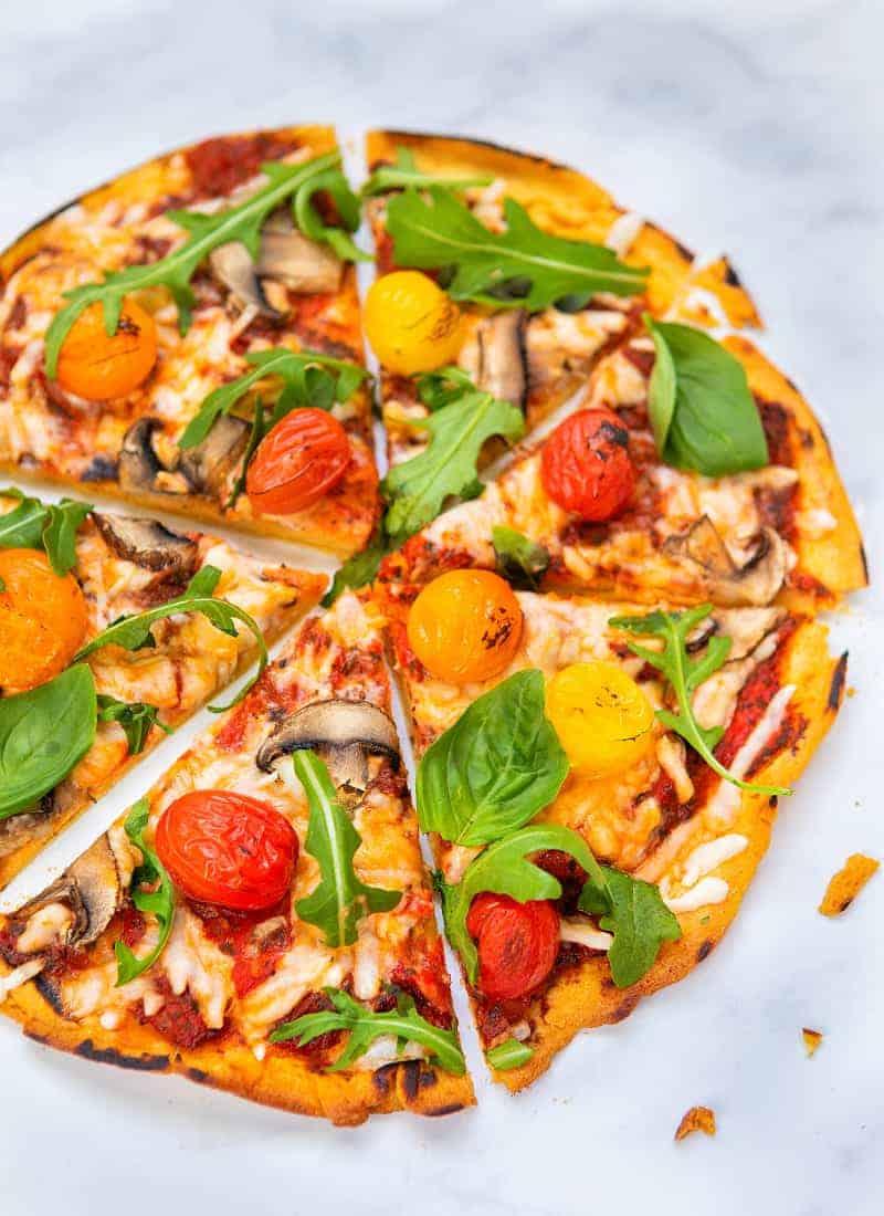 Gluten-Free Vegan Pizza Base - front