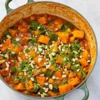 Peanut Sweet Potato Stew - Cooked front