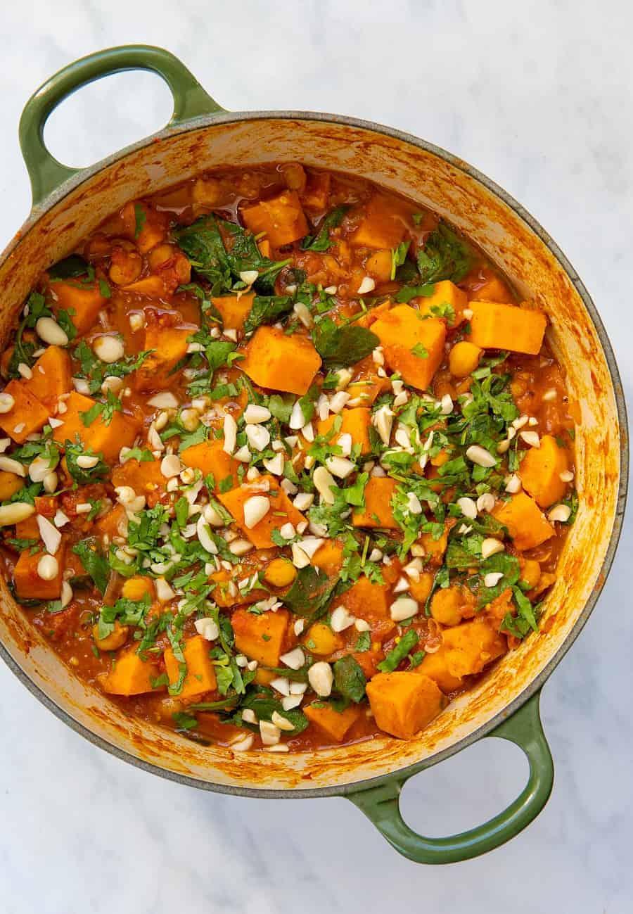 Peanut Sweet Potato Stew - top