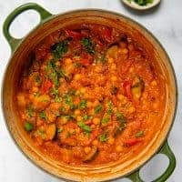 Apricot & Chickpea Tagine - Pot