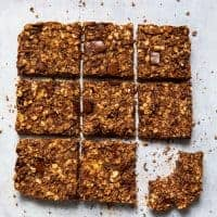 5 Ingredient Chocolate Flapjacks