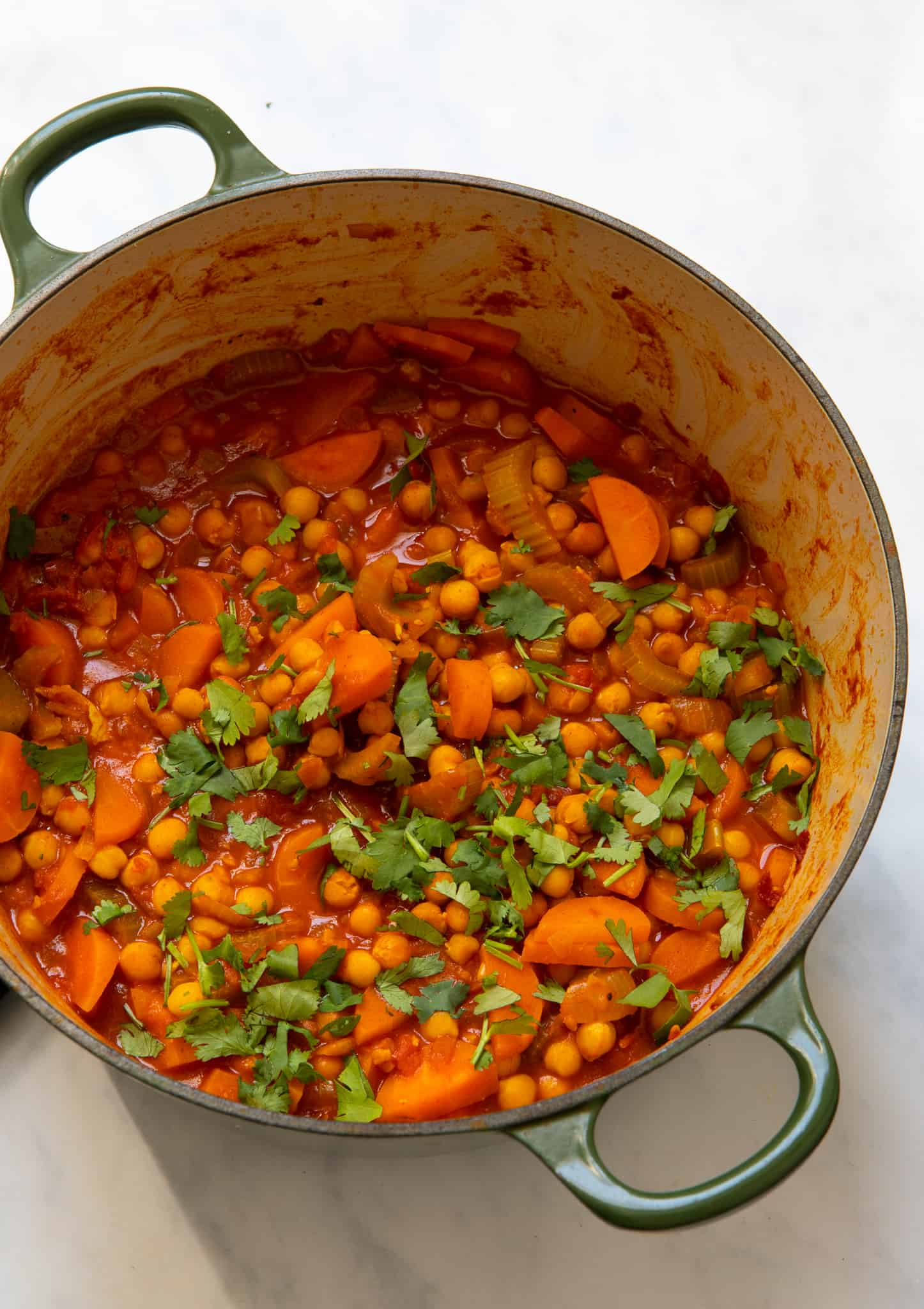 15 Minute Chickpea Stew