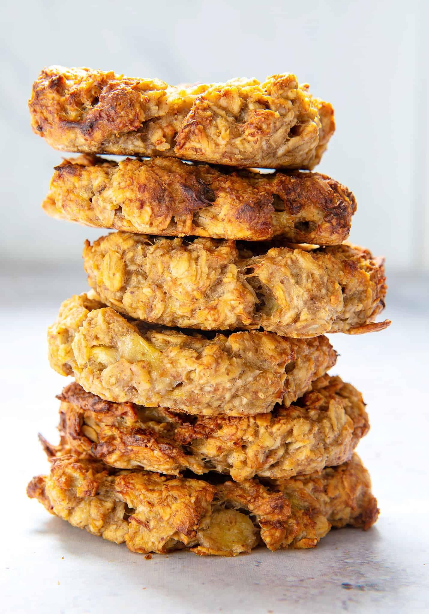 3 Ingredient Oat Cookies