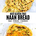 BEST Gluten-Free Naan Bread Pinterest 1