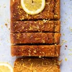 The Best Gluten-Free Vegan Lemon Drizzle Cake