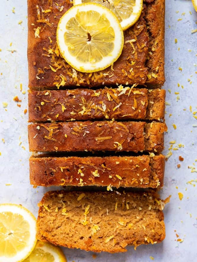 The Best Gluten-Free Vegan Lemon Drizzle Cake