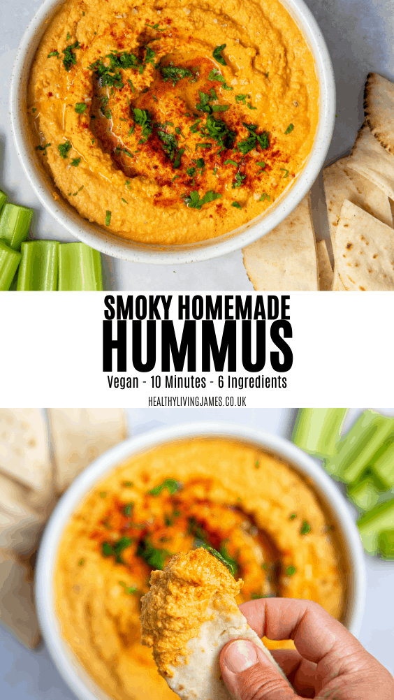Smoky Homemade Hummus