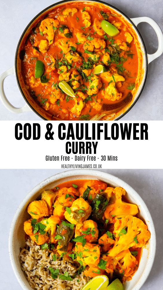 Cod & Cauliflower Curry Pin