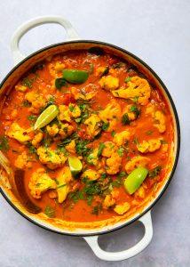 Cod & Cauliflower Curry