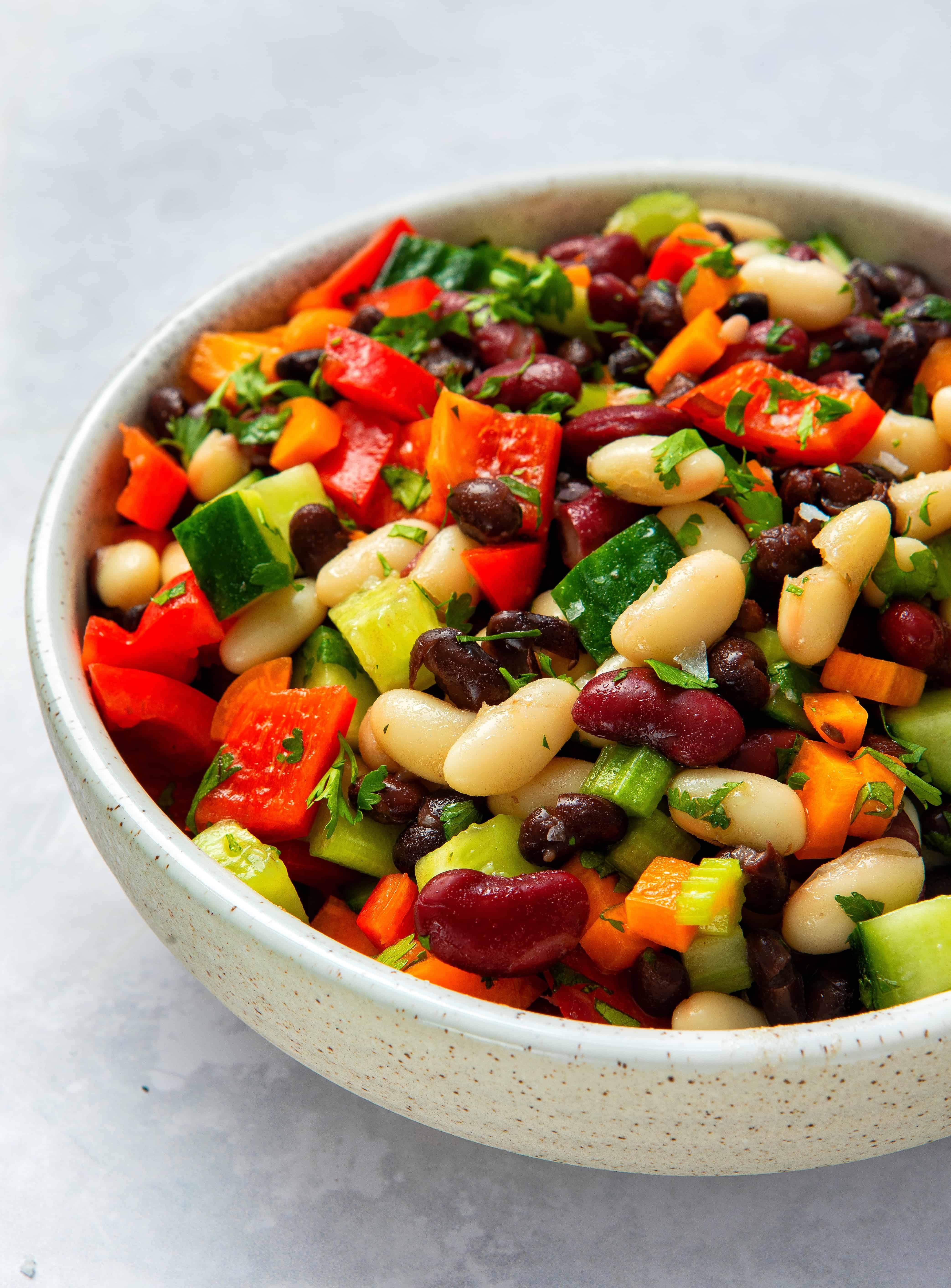 One-Bowl 3 Bean Salad