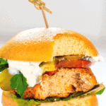 BBQ Salmon Burger PIn 2