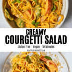 Creamy Courgetti Salad
