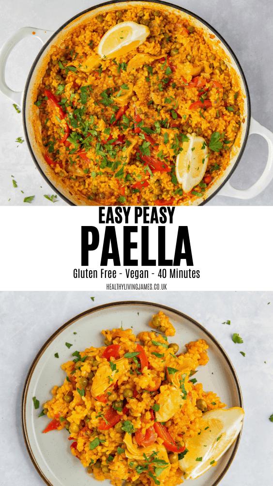 Easy Peasy Paella Pin
